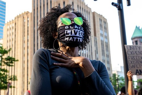 Manifestazione in ricordo di George Floyd a Minneapolis