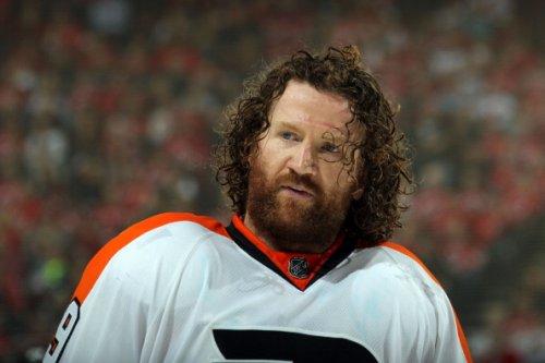 Flyers' Scott Hartnell, 2012