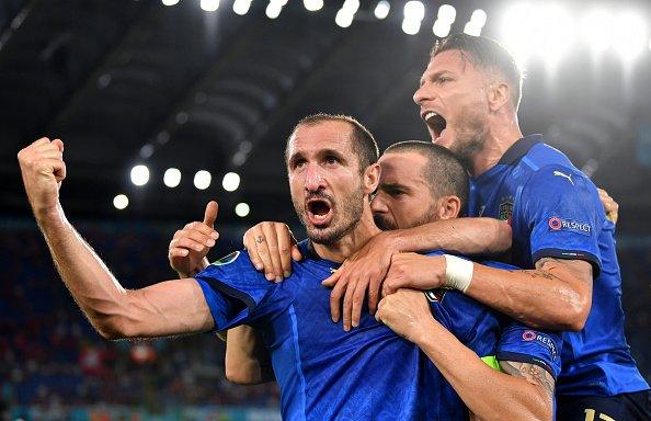 Italy advances