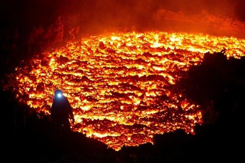 Klyuchevskoy Volcano in Russia