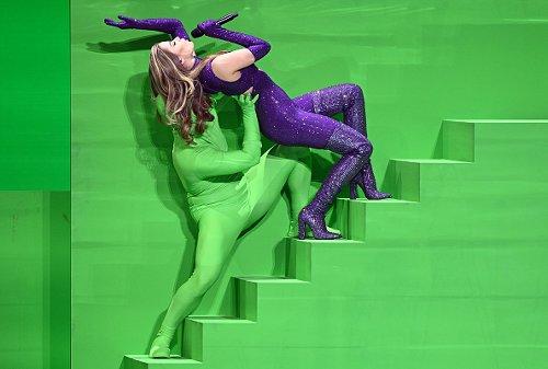 La cantante Stefanie (Grecia) all'Eurovision Song Contest