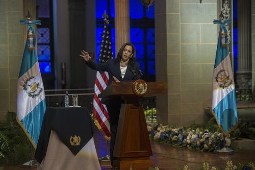 U.S. Vice President Kamala Harris in Guatemala