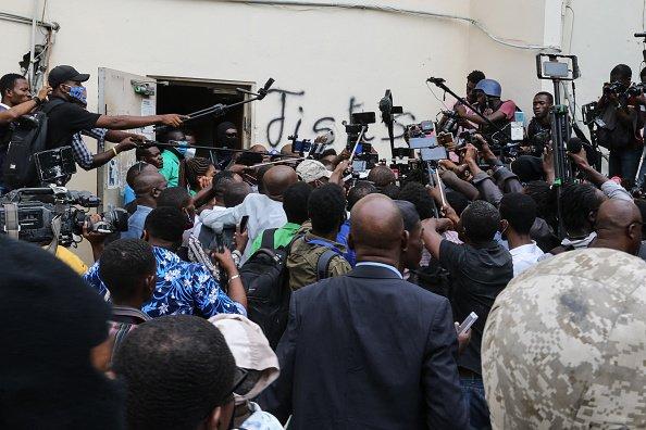 Frenzy of press