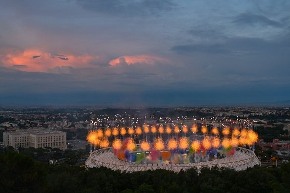 Rome's Olympic Stadium