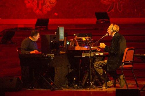 Durante un concerto a Barcellona nel 2015