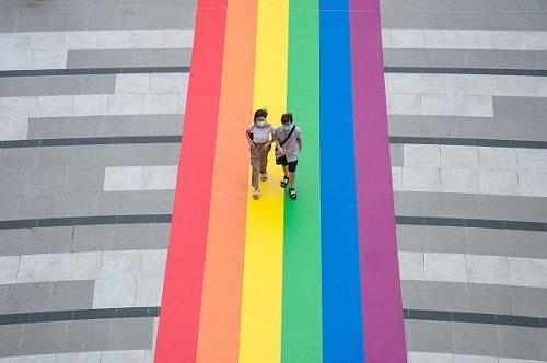Celebrazioni per il mese dell'orgoglio LGBTQ  a Bangkok