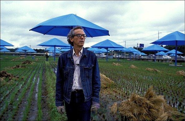 The Blue Umbrellas