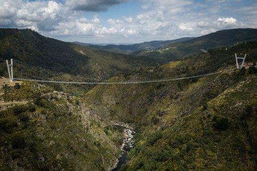Portugal's Record-Setting Pedestrian Suspension Bridge