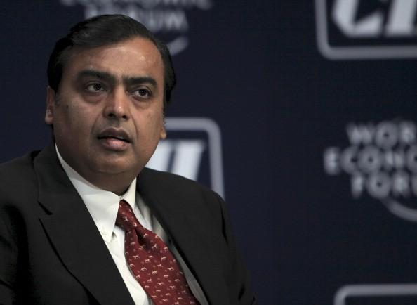 Mukesh D. Ambani, $74.4 billion