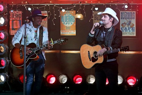 Jimmie Allen and Brad Paisley