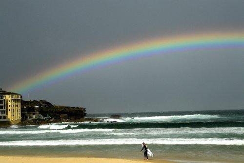 Un arcobaleno a Sydney