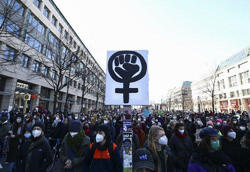 Giornata Internazionale della donna a Berlino