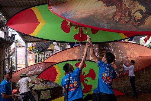 Traditional Vietnamese Kite Festival