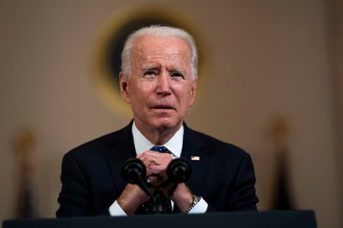 Biden remarks: 'We can't stop here'