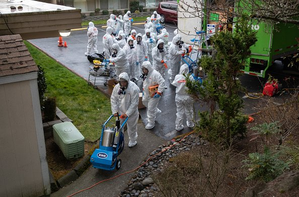 Washington state's containment effort