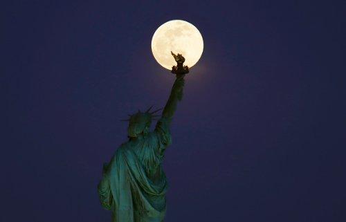 Lighting Lady Liberty's Torch