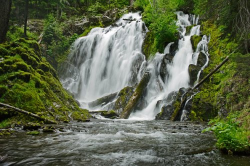 National Creek Falls, Rogue River National Forest