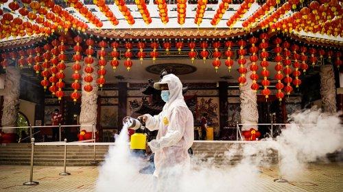 Celebrazione del Capodanno cinese in Malesia con severe misure anti  Covid
