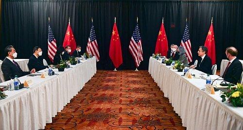 Il primo summit delle diplomazie statunitense e cinese dell'era Biden