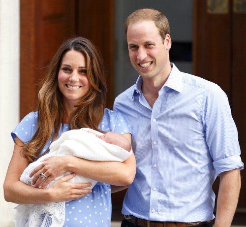 Newborn Prince George