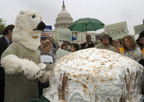 Ben & Jerry's protested drilling in ANWR