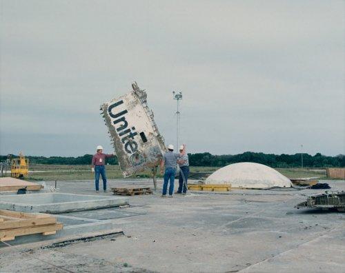 Challenger debris