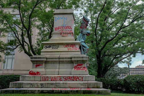 Confederate general Albert Pike statue destroyed in D.C.