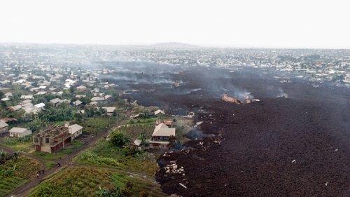 Volcanic Debris Widespread