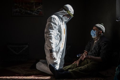 Le squadre di vaccinazione raggiungono i villaggi più remoti della Turchia