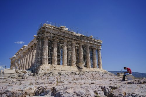 Greece's Capital Gets Ready for Return of Tourists