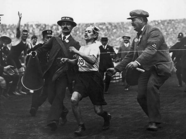 1908 marathon winner