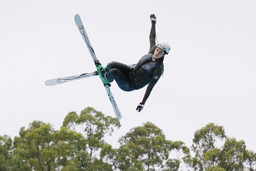 Aerial Skier