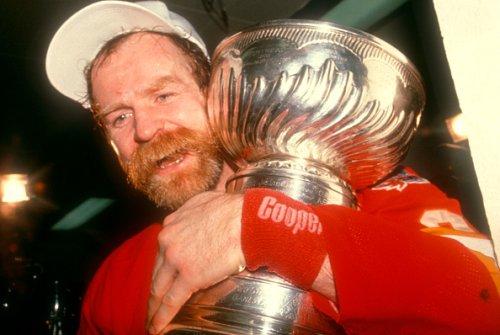 Flames' Lanny McDonald, 1989