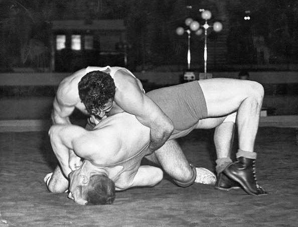 Wrestling at 1948 London Games