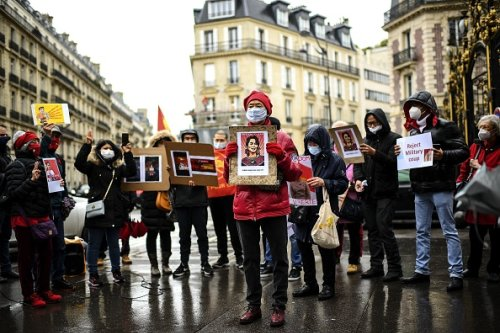 Protests overseas