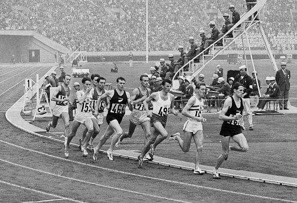 Men's 1500-meter race in Tokyo