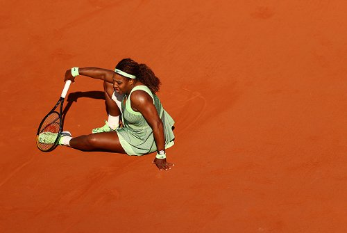Serena ousted