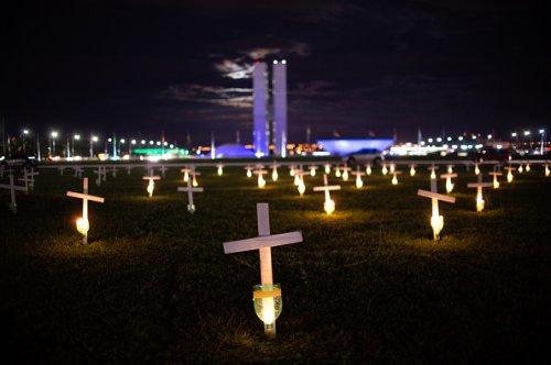 Brazil Nears 400,000 Pandemic Deaths
