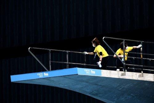 I test del FINA Diving World Cup per i Giochi Olimpici di Tokyo 2020