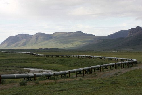Pipeline within ANWR