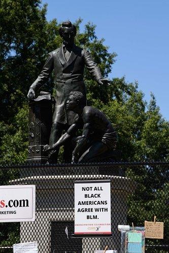 D.C.'s Emancipation Memorial protected