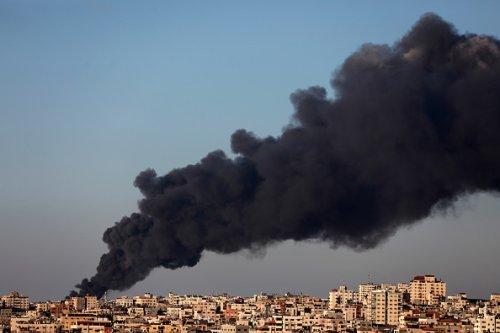 Fumi di guerra a Gaza
