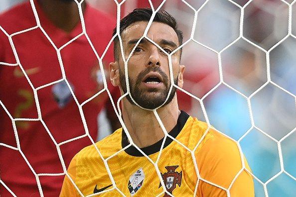 Il portiere del Portogallo Rui Patricio dopo il quarto gol della Germania