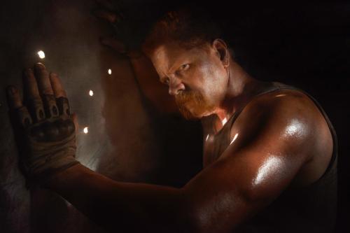 Michael Cudlitz: He's Still Working On Walking Dead, Even After Death