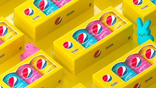 Pepsi and Peeps Are Combining To Release Marshmallow Soda