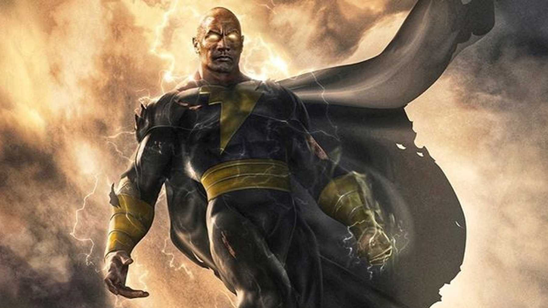 Watch The Rock As Black Adam Fight Superman In This Incredible Trailer