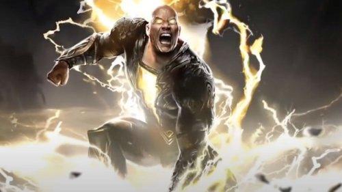 Dwayne Johnson Reacts To His New Black Adam Teammate