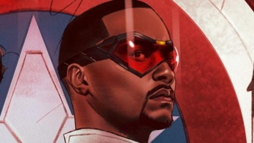 See Anthony Mackie In Full Costume As The New Captain America, First Look