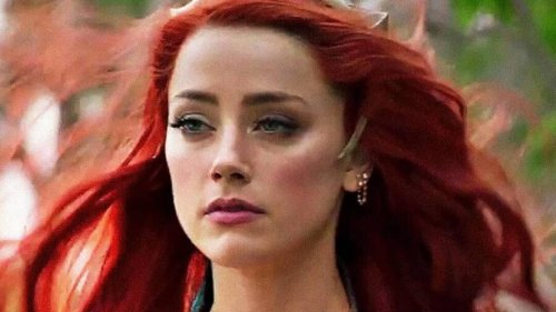 See Amber Heard Wearing Her Way Too Tight Mera Costume As Aquaman 2 Prep