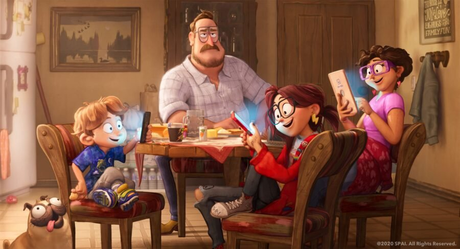 Connected: From The Cloudy With A Chance Of Meatballs Makers